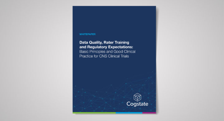 Data Quality, Rater Training and Regulatory Expectations: Basic Principles and Good Clinical Practice for CNS Clinical Trials